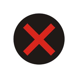 Signál pre zakázaný vjazd vozidiel do jazdného pruhu