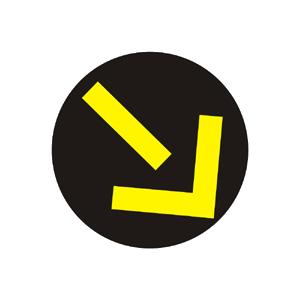Svetelná šípka doprava