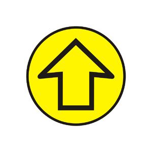 """""""Signál so žltým svetlom pre jeden smer so znamením """"""""Pozor!"""""""""""""""
