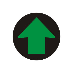 """""""Signál so zeleným svetlom pre jeden smer so znamením """"""""Voľno!"""""""""""""""