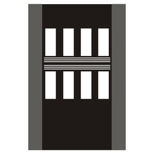V6b: Priechod pre chodcov s vodiacim pásom pre nevidiacich