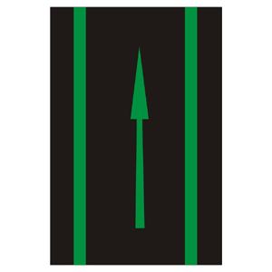 V8a: Cyklistická smerová šípka